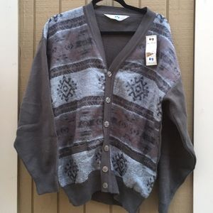 Other - Vintage made in Iran wool cardigan sweater